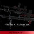en plastique modèle militaire fusils