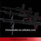 plastic military model guns