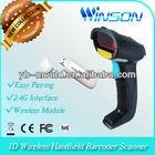 New advanced WNL3002 1D Wireless 2.4GHz Handheld QR code Barcode Reader Scanner
