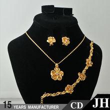 JH Fashion 18 Karat Gold Jewelry Sets