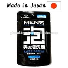 Japan Men's Face Wash Foam ( Refill Pack ) 130ml japanese face wash wholesale