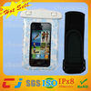 Factory price sports pvc waterproof diving bag for iphone5S with armband