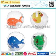 2014 new design inflatable animal inside ball