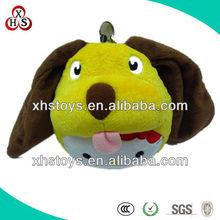 plush dog 2013 Lively cheap plush toys stuffed dog toys&plush football dog toy