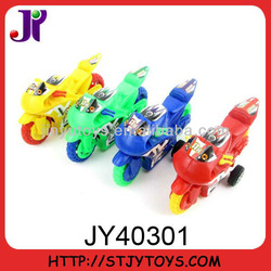 plastic toy pull back motorcycle promotion gift/promotion toy