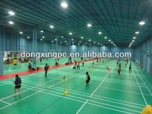 pvc sports floor for badminton materials