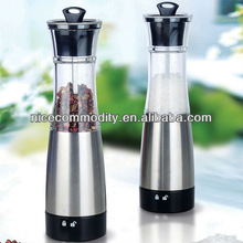new style stainless steel gravity electrical pepper mill