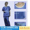 Descartável enfermeira vestido