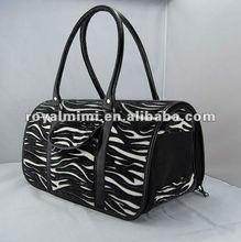 Zebra unique design dog products Pet carrier