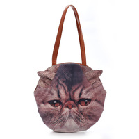 Cat/ Dog Boutique Store Handbags Cartoon PU leather Fashion bag (BSLA2001)