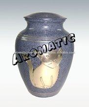 Classic Blue Patina Cat