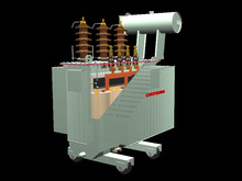 Distribution and power oil immersed transformer