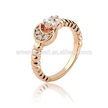 2015 fashion ring /wedding rings /silver wood wedding ring