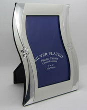 New Design Silver Plated Photo Frame