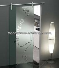 fashionable designed stainless steel sliding door