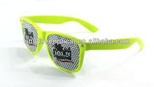 Pinhole glasses, free samples wayfarer sunglasses,promotional pinhole glasses