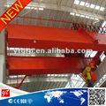 doble vigas de gancho móvil grúa puente grúa de 100 toneladas