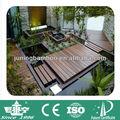 strand woven em bambu pisos ao redor da piscina