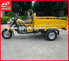 China adult motorized 3 wheel motorcycle/ cargo tricycle