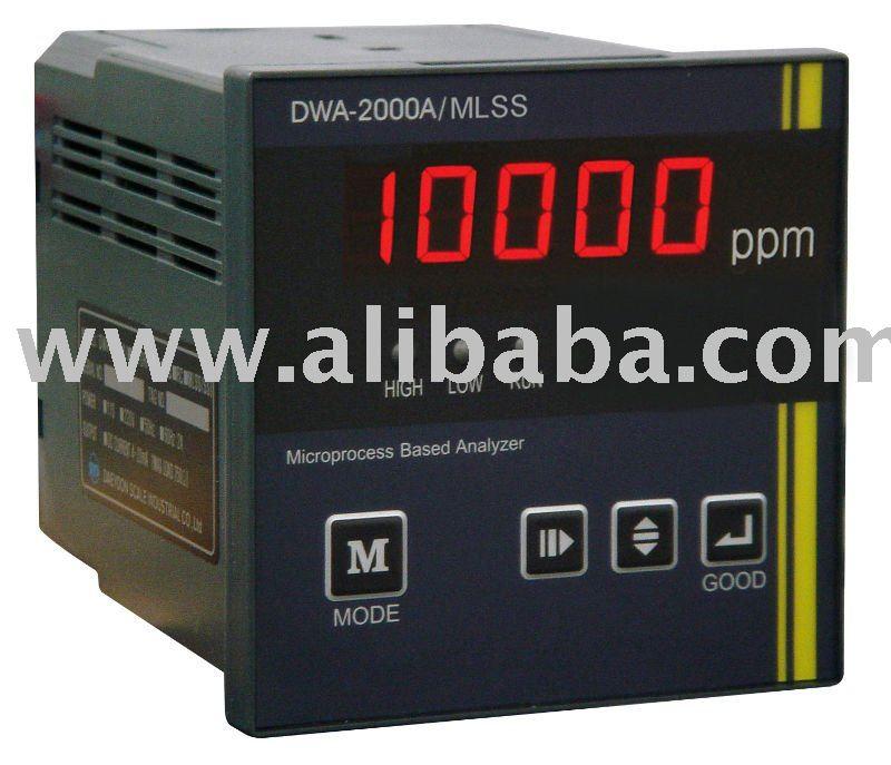 En línea MLSS materias en suspensión controlador. Mezclado licor suspendido sólidos