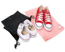 Polyester drawstring shoe bag,Bag in bag
