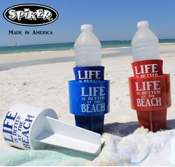 Spiker Lifestyle Holder (a/k/a Beach Spikes)