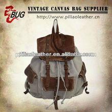 2012 Brand New Unisex Men Women Girls Canvas Backpack School Bag Satchel Travel Tote