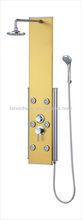 LN-V306 classic sanitary ware shower set faucets cheap bathroom accessories folding bath shower screen