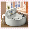 Enjoy your bath whirlpool bathtub jet parts/classical bathroom bathtub with TV