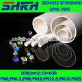 iso4422 internacional estándar de tubos de pvc fórmula