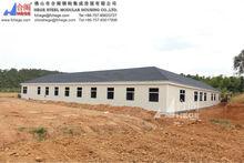 prefabricated modular home design,modern slope roof prefab house
