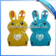 Plastic Rabbit Shape Coin Bank