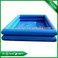 Comercial popular barata gigante piscinainflável, inflável piscinas redondas de plástico