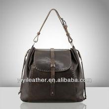 2014 latest ladies fashion handbags genuine leather tote bag