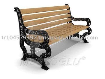 Street Wooden Bench