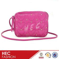 2013 New Style Love Design Cross Body Bag Rivet Shoulder Bag
