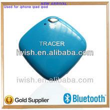 key chain gps tracker wireless bluetooth vibrator security tag for iPad mini/ iphone 4s/5/iPad 3/4/iPod touch 5