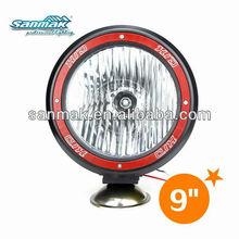 Hid driving fog lights red ring car roof fog lamp 4x4 spotlight 9 inch hid off road light SM3900