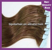 Best quality peruvian straight hair Tape skin weft sticker hair extensions