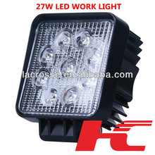 only 0.5% defective rate led working light 27w led