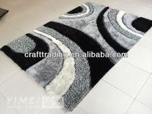 Light Grey Multi-structure Shaggy Carpet