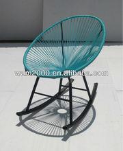 steel PE Acapulco rocking chair