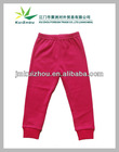 Hot Sale 100% Cotton Plain Tight Baby Clothes Baby Legging Pants