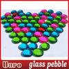 DIA 15-20mm iridescent color mix pebble