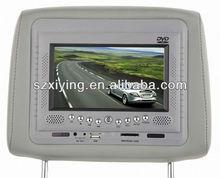 7 inch car headrest dvd player pillow DVD player XD706