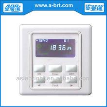 220V Digital automatic light timer control switch