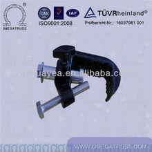 aluminum accessories, black color clamp, light clamp
