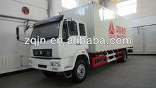 SINOTRUK 15 Tons White 4X2 Chinese Van Truck