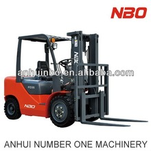 3.5 Ton Used Diesel Forklift with 3 Stages Forklift