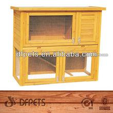 2 Story Waterproof Wooden Rabbit Hutches DFR029